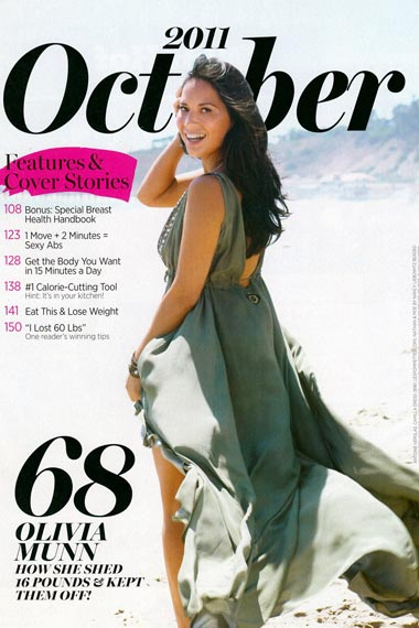 Olivia Munn: New Face of Shape Magazine
