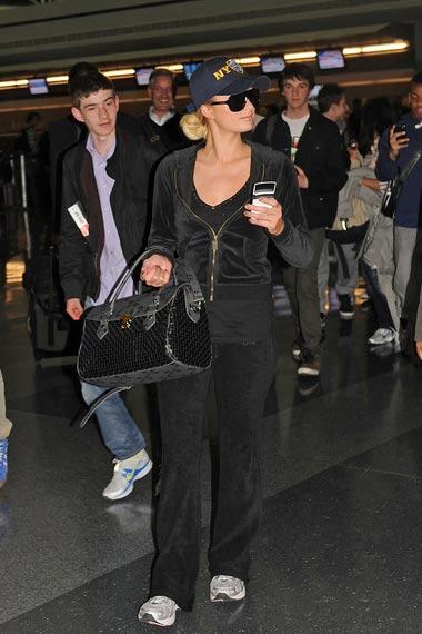 Paris Hilton NYPD Baseball Cap