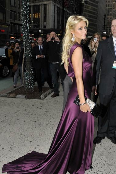Paris Hilton Struts in NYC