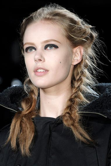 pigtail hairstyle for 2012