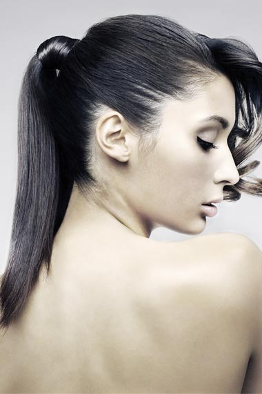 ponytail hairstyles pictures