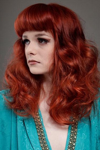 Red hair colour 2012