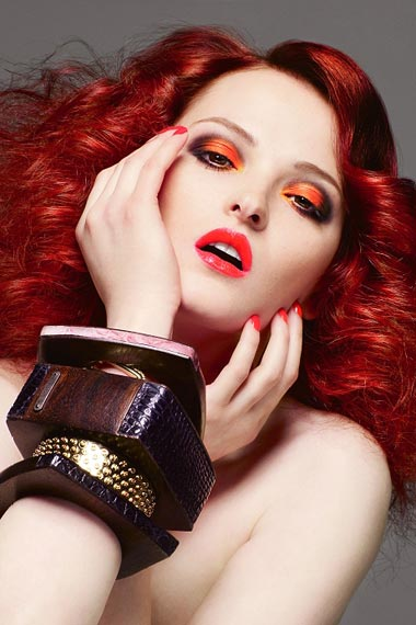 Red Hair Color Trends For 2012