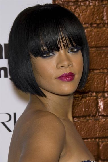 Rihanna's Bob Haircut Style