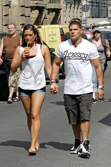 Jersey Shore Ex Lovers Sammi and Ronnie spotted holding hands