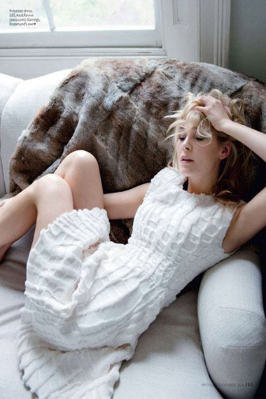 Rosamund Pike Graces UK's InStyle Magazine Cover