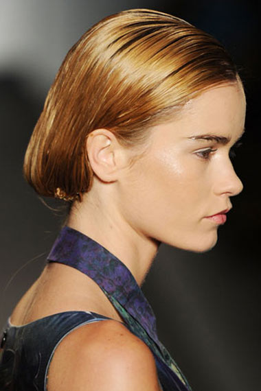 Runway Super Sleek Updo