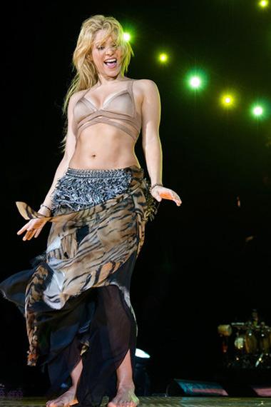 Shakira's Abs
