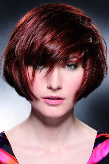 Short Layered Hairstyles 2012