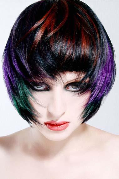 Short Layered Hair Color Ideas