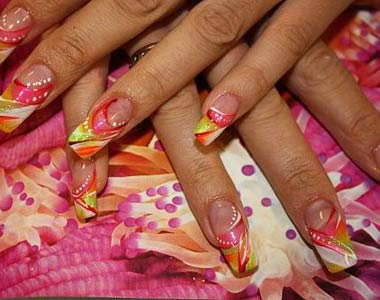 Complex Nail Designs
