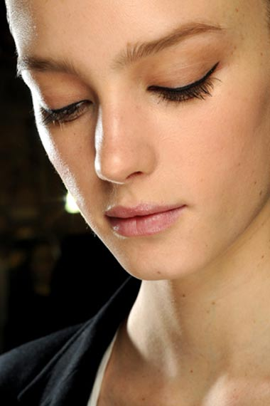Stella McCartney Runway Models Makeup 2012
