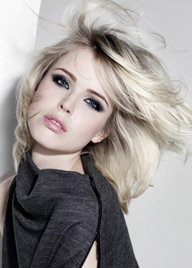 Trendy Dark Roots Hairstyles 2011