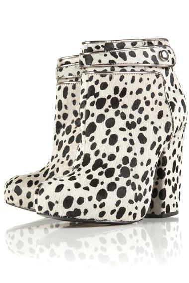 leopard print boots 2012