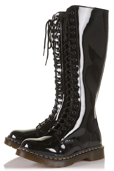 black knee high boots2012,