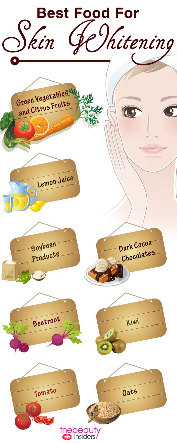 Best Food For Skin Whitening