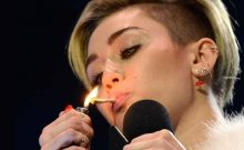 Pictures of Miley Cyrus Smoking Hit the Web