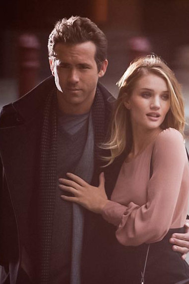 Rosie Huntington-Whiteley and Ryan Reynolds