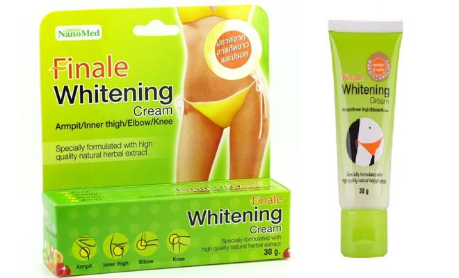 finale whitening cream