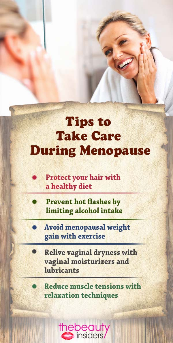 Tips to Take Care During Menopause