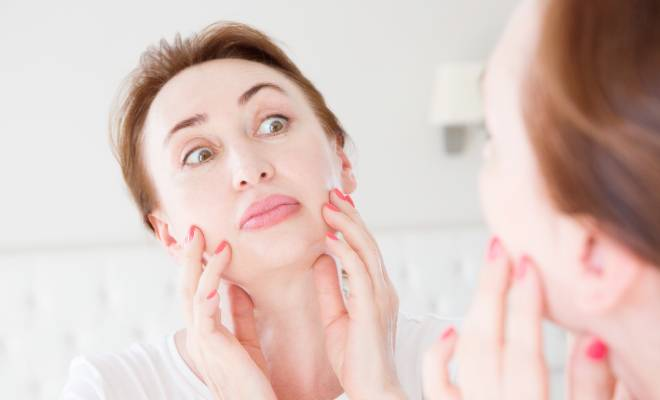 Know what causes acne after menopause