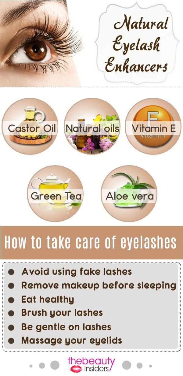 Natural Eyelash Enhancers
