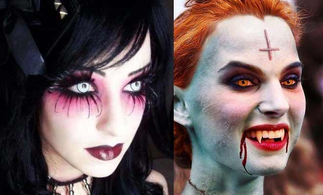 Get Scary Halloween Horror Makeup Looks and Ideas