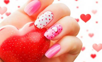 10 Super Hot Nail Art Ideas for Valentine's Day