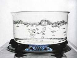 Stay Away From Hot Water