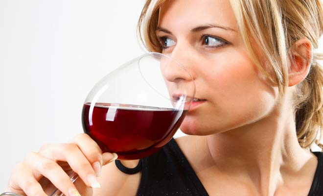 Benefits of Red Wine for Anti-Aging