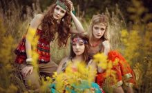 6 Hippy Style Clothing and Makeup to Try on the Beach