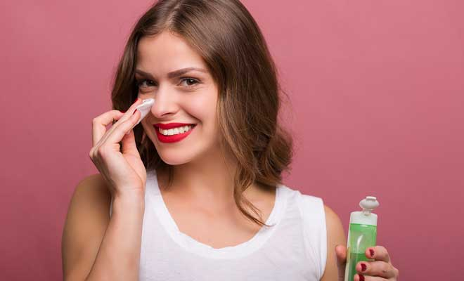 Remove Makeup Step by Step
