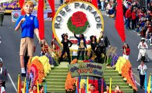 The 127th Annual Tournament of Roses Parade: 1st January 2016