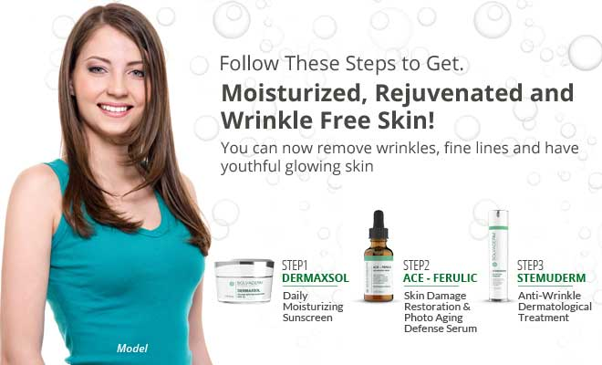 The Seven Ages of Skincare by Solvaderm