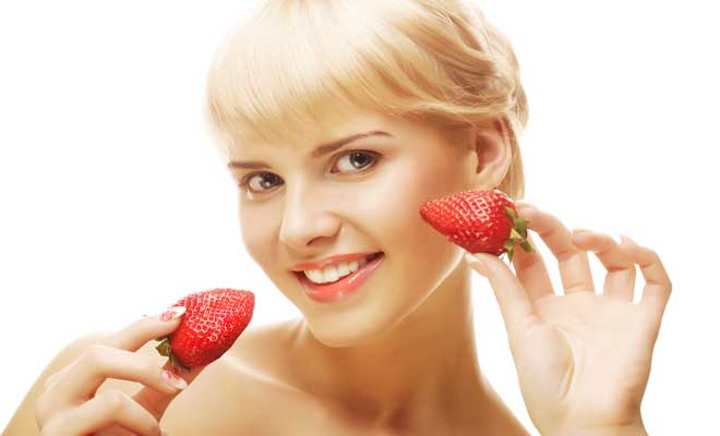 Strawberry Protects Against Acne