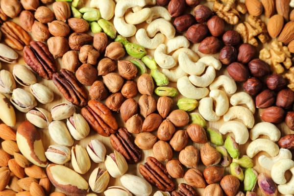 Thankgiving Nut Food for Beautiful Skin