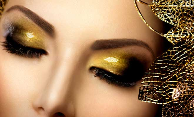 Glitters To Frame Your Face