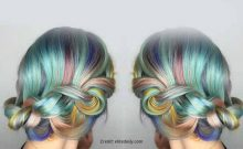 Macaron Hair is the most amazing Rainbow Style you should try