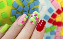 A Rainbow Nail Art Design That's Perfect for Beginners