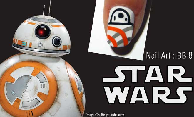 BB-8 Nails