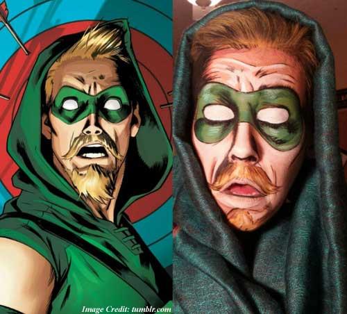 Comic Book Style Makeup