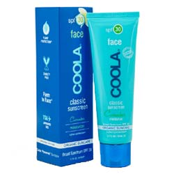 COOLA SPF 30 Cucumber Face Moisturizing Sunscreen