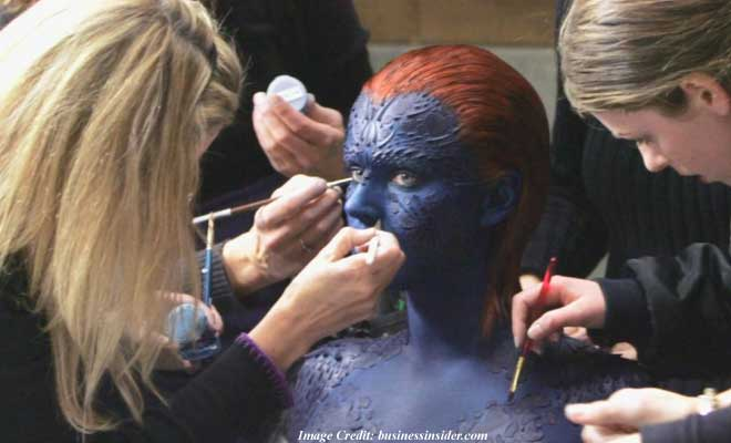 Mystique Makeup