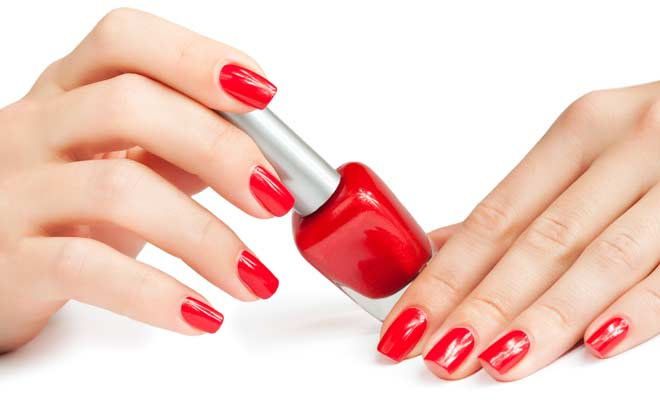 Painting Your Nails The Wrong Way