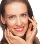 Anti-aging skin area around eye