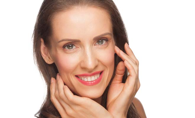 Anti-aging skin area around eye