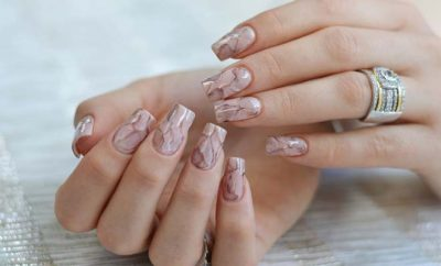 The New Trend in Nail Art: Marble Nail Art