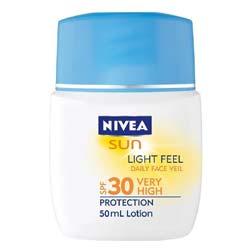 Nivea Sun Light Feel Daily Face Veil SPF30