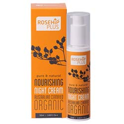 RosehipPLUS Organic Nourishing Night Cream