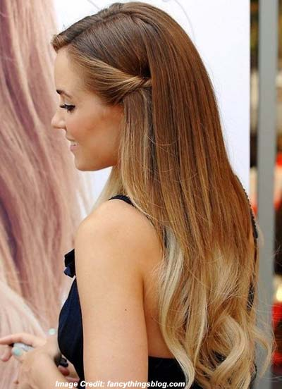 Straight and Sleek Hairstyle